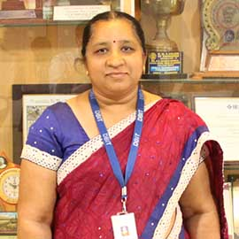 Ms. Anupama S(Associate Professor & HOD)