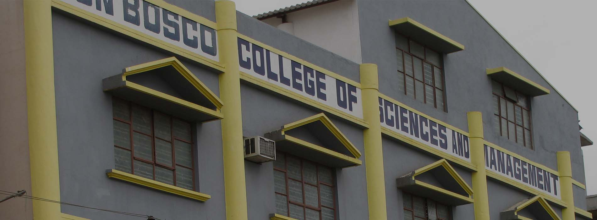 DON BOSCO GROUP OF INSTITUTIONS BANGALORE